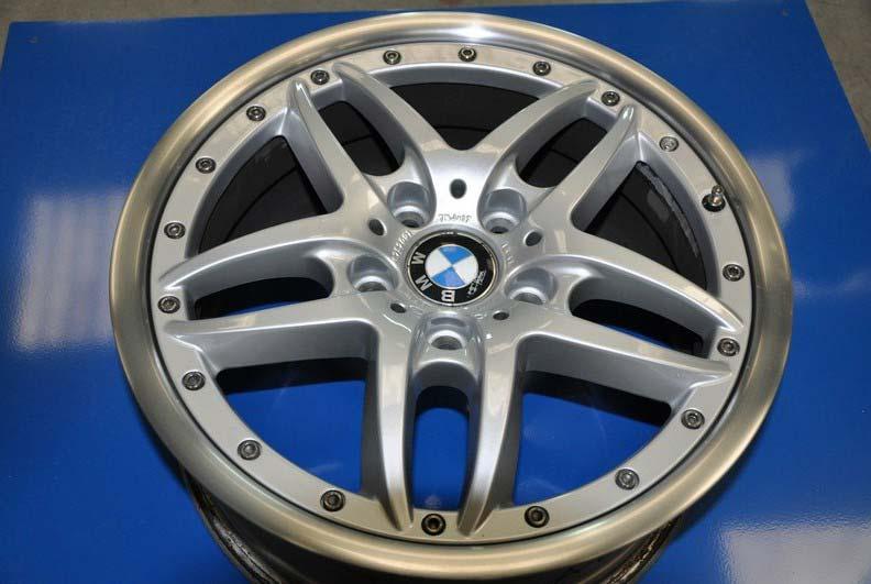 Réparation de jante alu BMW